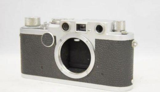 LeicaライカⅡf(2f)ボディの買取価格