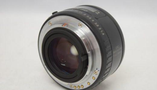 PENTAXsmcPENTAX-FA50mm1:1.4の買取価格