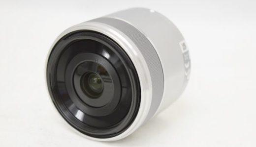 SONYソニーE30mm1:3.5Macroレンズの買取価格