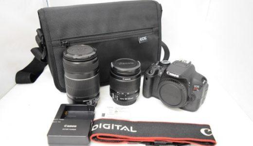 CanonキャノンEOSkissX6iダブルレンズキットの買取価格