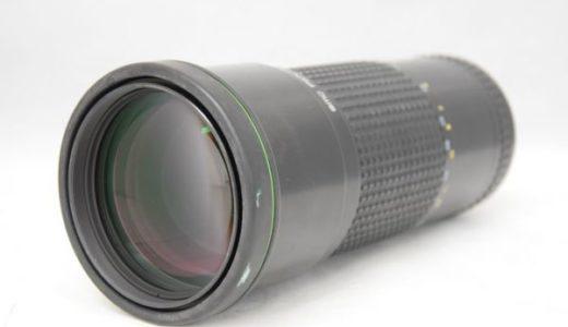 ペンタックスsmcPENTAX-A 645 300mm 1:4 ED [IF]の買取価格