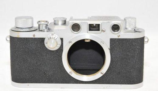 LEICAライカⅢc3cボディの買取価格-フィルムカメラ