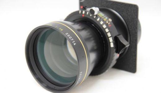 NikonニコンNIKKOR-T360mm1:8/500mm1:11/720mm1:16の買取価格