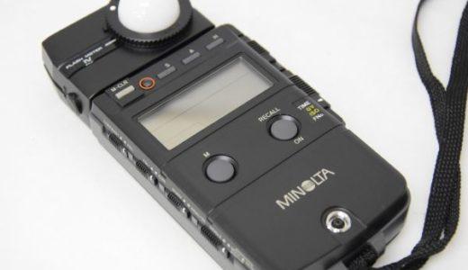 minoltaミノルタflash meter IV露出計の買取価格
