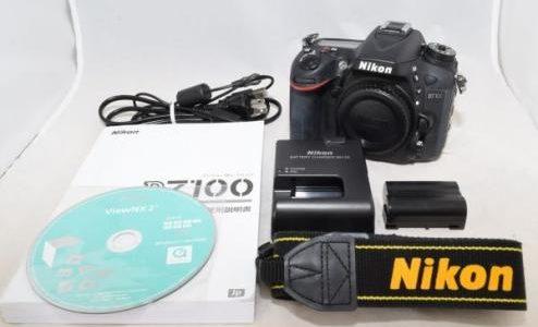 NikonニコンD7100ボディデジタル一眼レフカメラの買取価格