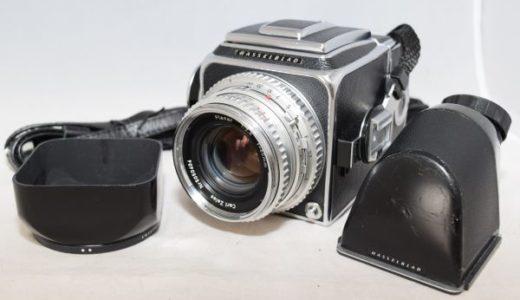 HASSELBLADハッセルブラッド500C/Carl Zeiss Planar 80mm1:2.8中判フィルムカメラの買取価格