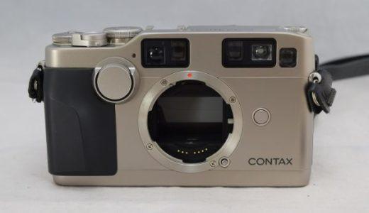 CONTAXコンタックスG2レンジファインダーカメラの買取価格