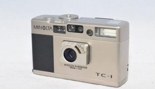 MINOLTAミノルタTC-1コンパクトフィルムカメラの買取価格