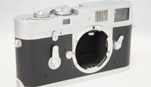 LeicaライカM2ボディの買取価格