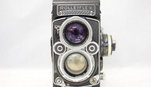 ROLLEIFLEXローライフレックス2.8F DBP DBGM Planar 80mm 1:2.8の買取価格・二眼レフカメラ