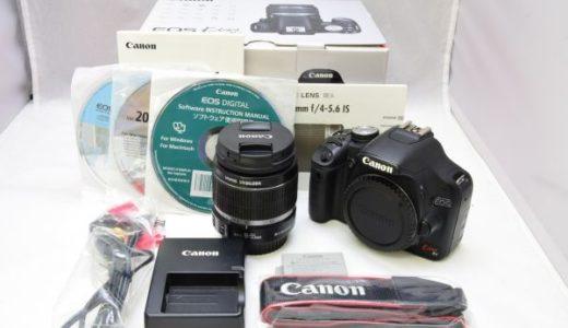 CanonキャノンEOS kiss X3 18-55mmレンズキットの買取価格