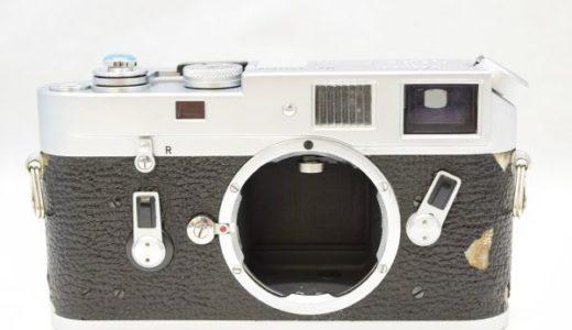 LeicaライカM4ボディの買取価格